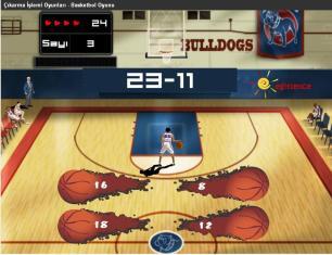 Çıkarma İşlemi Basket Oyunu
