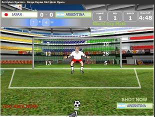 Dünya Kupası Dört İşlem Oyunu
