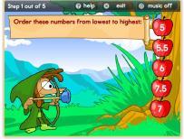 Matematik Sayıları Büyükten Küçüğe Sıralama