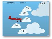 uçaklı çarpma işlemi